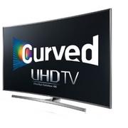 original Samsung 4K UHD JU7500 Series Curved Smart TV